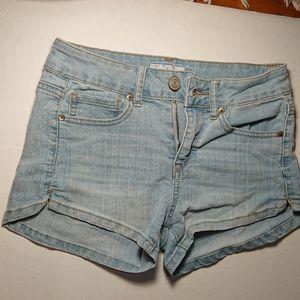 Target High Rise Denim Shorts
